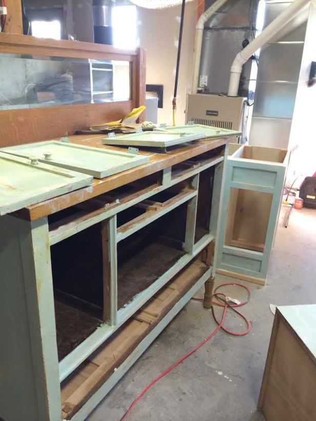 Sideboard During